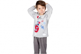 Pyjama Enfant Gris