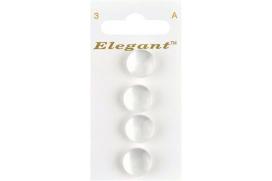 Boutons Elegant tm - Les Blancs