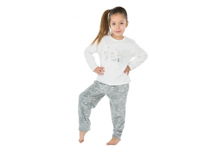 Pyjama composition brodée - Muslher