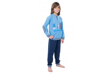 Pyjama ado Blue - Muslher