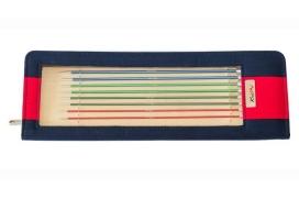 Knit Pro Zing 40cm : Set de 8 paires d'aiguilles