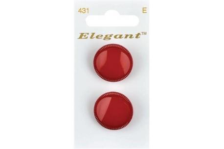Boutons Elegant tm - Les Rouges