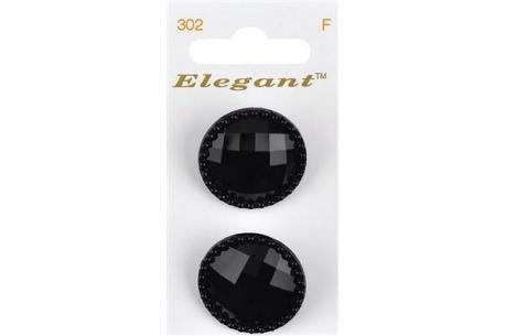 Boutons Elegant tm - Les Noirs