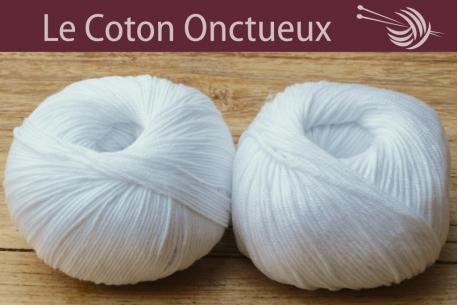 Le Coton Onctueux Blanc
