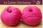 Le Coton Onctueux framboise