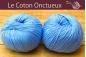 Le Coton Onctueux Bleu Ciel