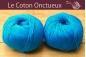 Le Coton Onctueux Turquoise Foncé