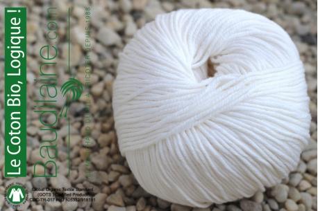 Le Coton Bio Blanc