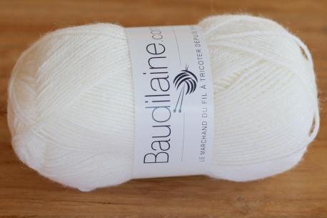 Le Fil Chaussette Blanc