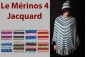 Le Mérinos 4 Jacquard 908